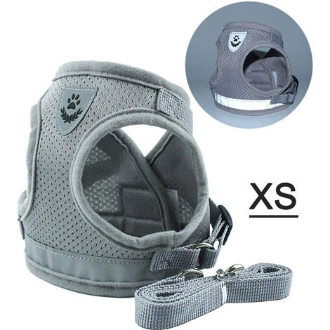 """main image of """"Dog Harness No-Pull Pet Harness Step-in Air Dog Harness Adjustable Outdoor Pet Vest"""""""