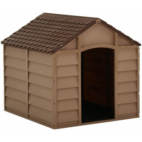 """main image of """"Dog House Brown 71x71.5x68 cm PP25481-Serial number"""""""