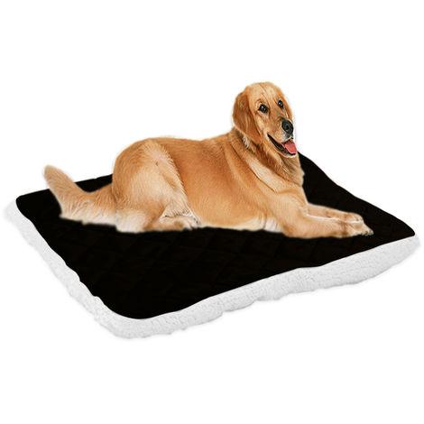 Dog kennel pet mat dog blanket black XXL