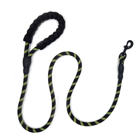 Dog Leash Reflective Nylon Dark green