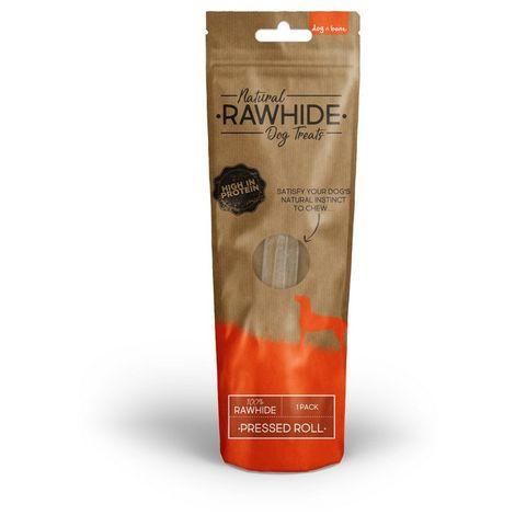 Dog N Bone Rawhide Pressed Roll Dog Treats