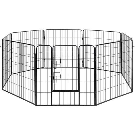 Dog Playpen 8 Panel Steel