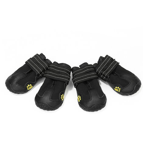 Dog Shoes Rain Boots Waterproof Dog Shoes 4 PCS size 5