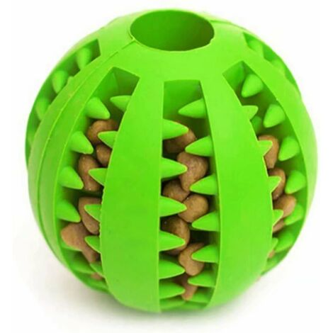 """main image of """"Dog Toy Ball, bite resistant Non Toxic for Dogs - green"""""""