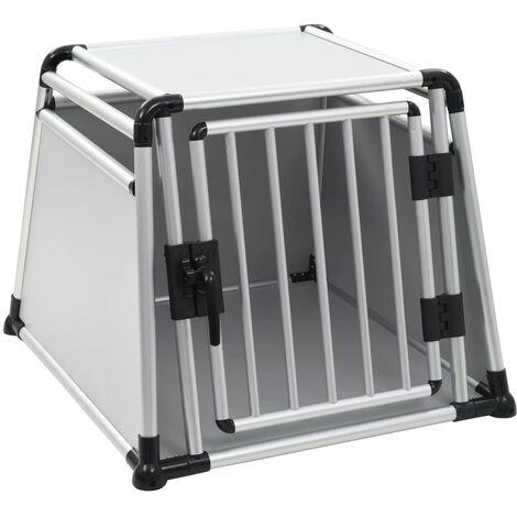 Dog Transport Box Aluminium L
