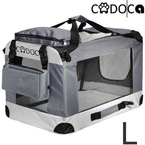 Dog Transport Box CADOCA Foldable Size L