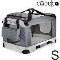 Dog Transport Box CADOCA Foldable Size S