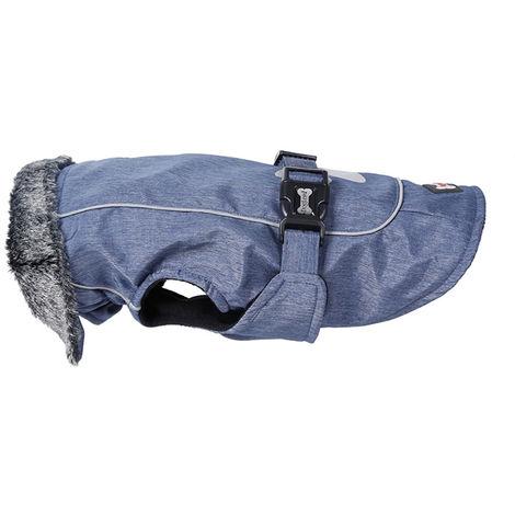 Dog Vest Cold Weather Dog Coats for Winter Warm Dog Clothes Blue S