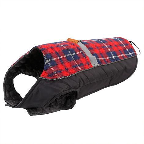 Dog Vest Dog Coats For Warm Winter Red , 3XL