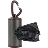 Dog Waste Dispenser Includes 15 Bags Brown