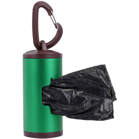 Dog Waste Dispenser Includes 15 Waste Bags,Green