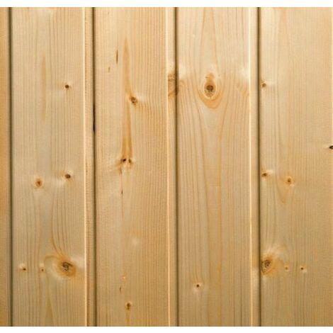 Doghe perline legno grezze pino svezia 1 cm - 1^ scelta mm 10 x 100 x 1600 dimensione disponibile: mm 10 x 100 x 1600