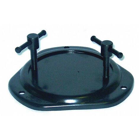 Dolex - Base tournante en acier Ø 14 mm pour étaux 58