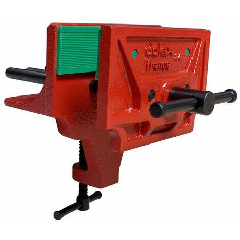Dolex - Mordaza de prensa de carpintero que sujeta 150 x 40 mm