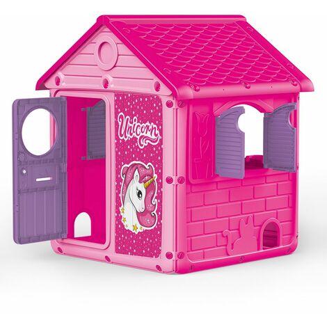 Dolu Kids Unicorn Wendy Playhouse Garden/Outdoors/Pink/Purple Spacious Play