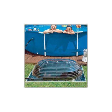 Dome solaire maxi pool sun