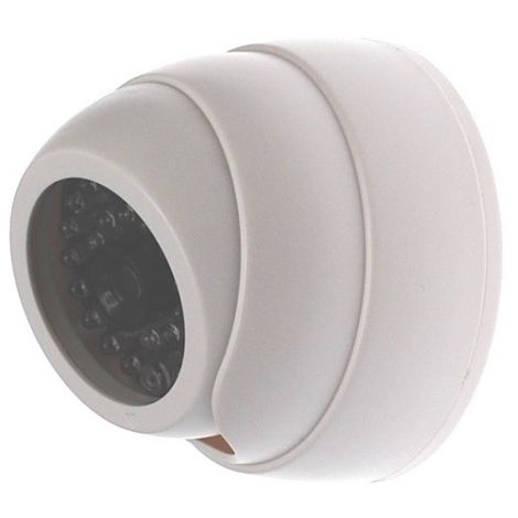 Dome Styled Dummy CCTV Camera White (DC16) [002-0161]