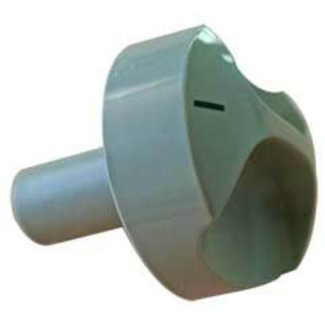 Dometic Fridge Turning Knob (One Size) (Silver)