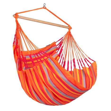 Domingo Toucan - Chaise-hamac Comfort outdoor - Rouge