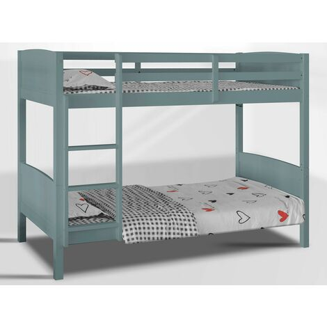 """main image of """"Domino 3FT Kids Bunk Bed (Frame Only) - Grey"""""""