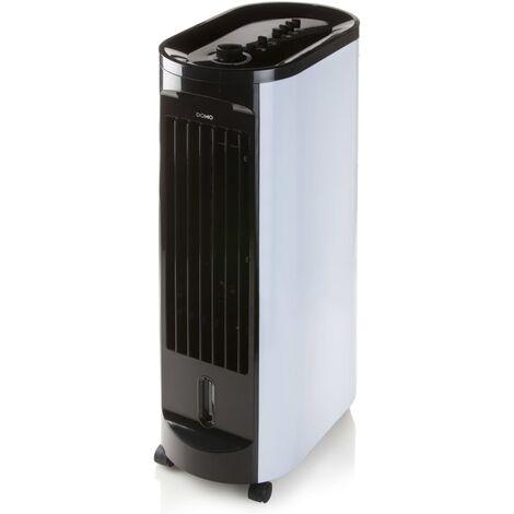 DOMO Enfriador de aire 67 cm 70 W negro y blanco