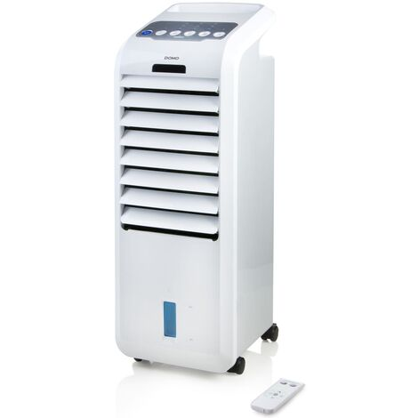 DOMO Enfriador de aire portátil 76 cm 55 W blanco