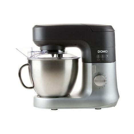 DOMO Food Processor - 4.5L Black & White DO9182KR