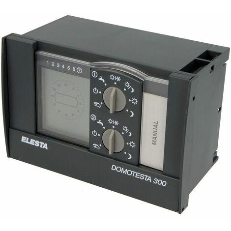 DOMOTESTA régulateur chauff.+à distance p. chaudière, 2 mélangeurs eau sanitaire