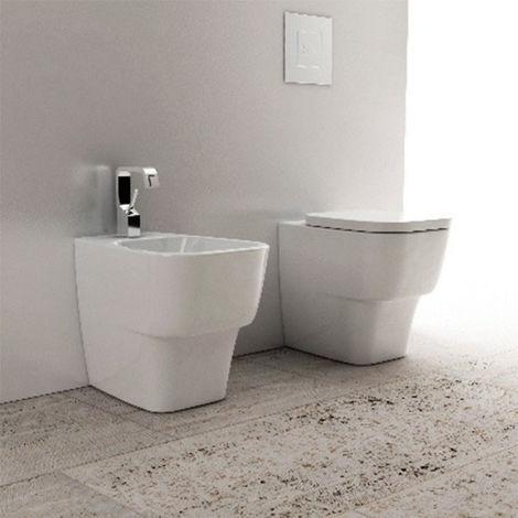 Domus Falerii F50 Small- Duo des sanitaires au ras du mur. (code F50SMT)