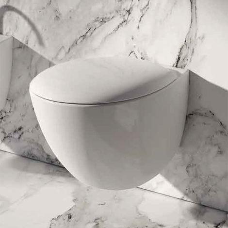 Domus Falerii Mascalzone -Cuvette de WC suspendue compact 48cm