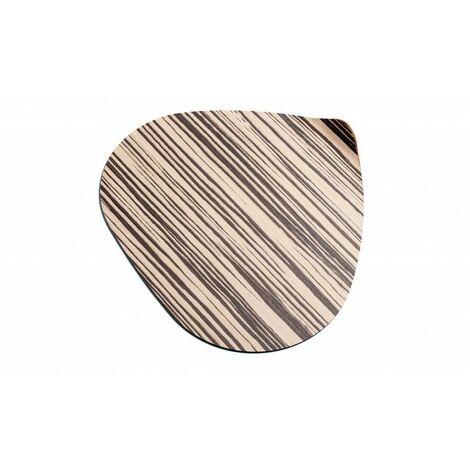 DON HIERRO, Ameba, set de 2 bajoplatos de madera,36 x 40cm,. Diseño y fabricación española.