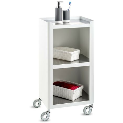 DON HIERRO, Carrito de baño - Carrito auxiliar con ruedas, LOUISE,. Diseño y fabricación española.