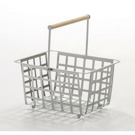 DON HIERRO, ZESTAS - Set de 2 cestas - tamaño semi grande,. Diseño y fabricación española.
