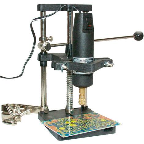 DONAU Bohrständer mit Hebel + Tischklemmen für Kleinbohrmaschinen