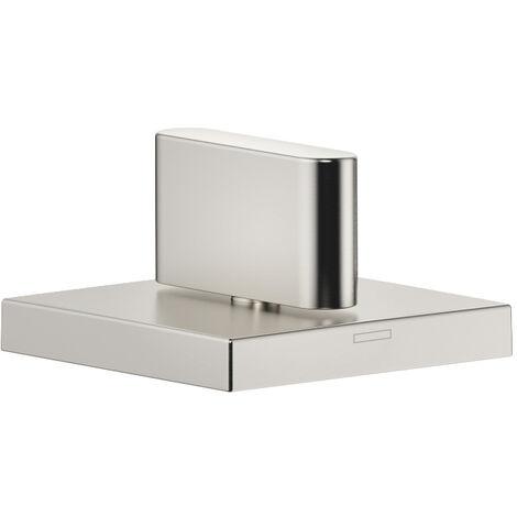 "Donbracht CL.1 válvula lateral de cierre a la derecha, 1/2"" para bañera, color: Mate platino - 20000705-06"