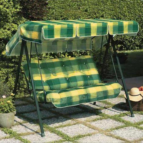 Dondolo Da Giardino 3 Posti.Dondolo Da Giardino Primavera 3 Posti Cucini Imbottiti Scab Primavera Verde