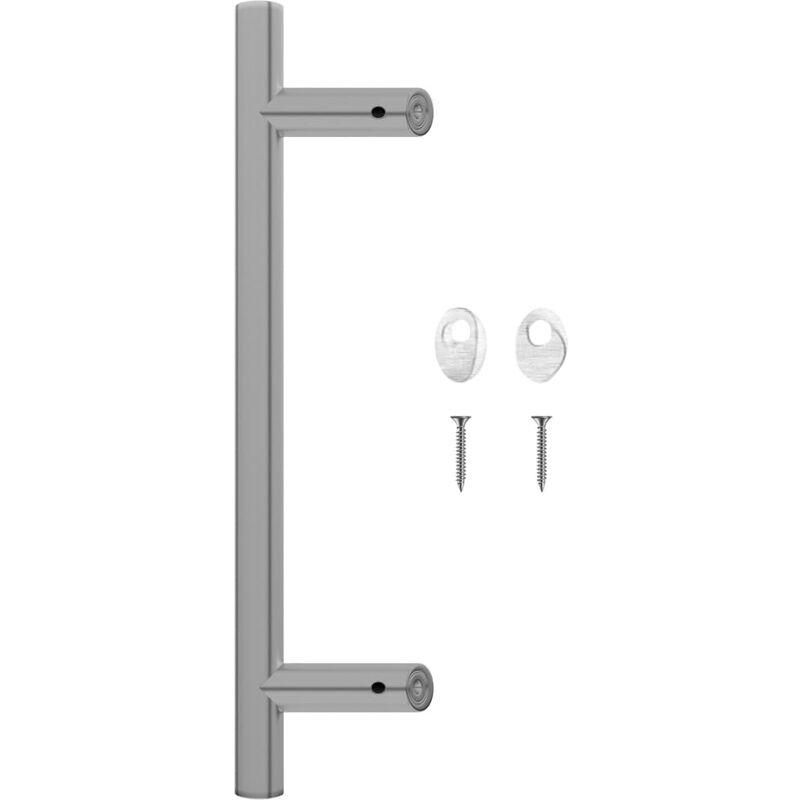 Door Bar 400 mm Stainless Steel