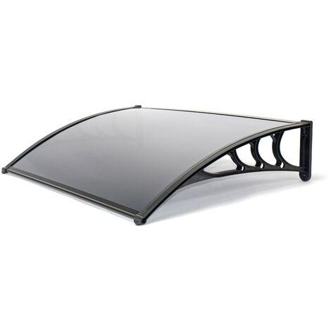 Door Canopy, Black 1.2m
