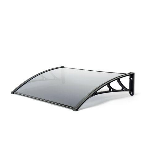 Door Canopy, Black 1m