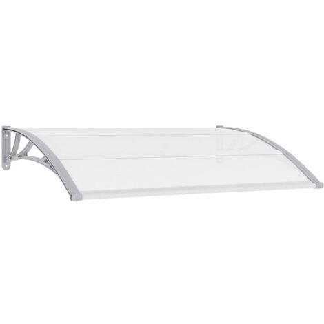 Door Canopy Grey 150x100 cm PC