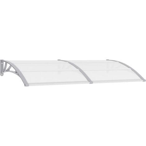 Door Canopy Grey 200x100 cm PC