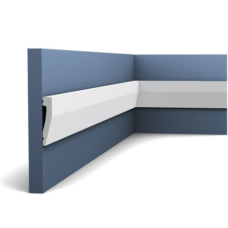 Door frame Skirting Plinth Orac Decor DX159-2300 AXXENT Cable channel multifunctional Decoration Element 2.3 m