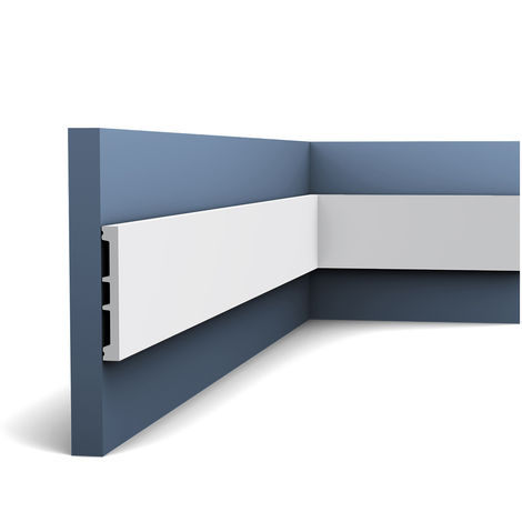 """main image of """"Door frame Skirting Plinth Orac Decor DX163-2300 AXXENT Cabel channel multifunctional Decoration Element 2.3 m"""""""