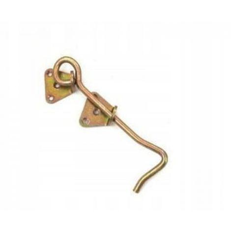 Door hook screwed hook 200 x 7 mm thick