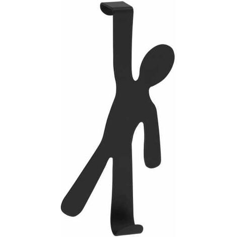 Door-mounted hook Boy Black WENKO
