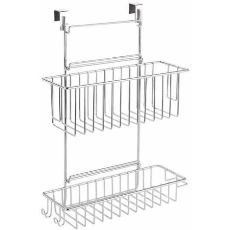 Door-mounted rack for kitchen cupboards WENKO