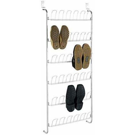 Door rack for 18 pairs of shoes WENKO