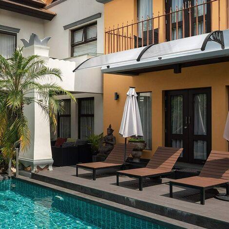 Door &Window Canopy for Sun Shade And Rain - Black 90*240