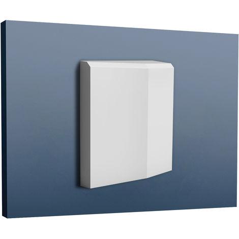 Door Window frame Orac Decor D330LR LUXXUS Skirting Plinth Decoration Element strong and impact resistant 16 cm