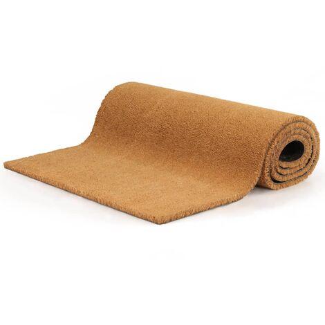 Doormat Coir 24 mm 150x200 cm Natural - Brown